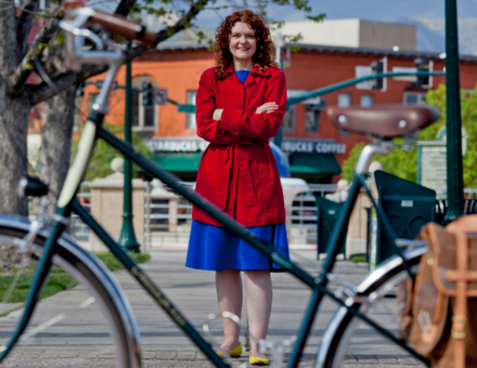 Colorado Urban Rider Amy Stovall