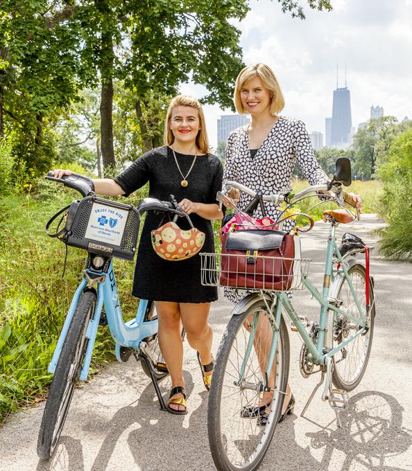 Let's Go Ride a Bike's Trisha Ping & Dottie Bracket