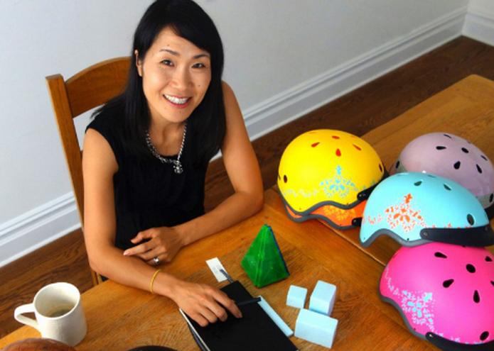 Sawako Furuno: Move to NYC Inspires New Helmet Designs