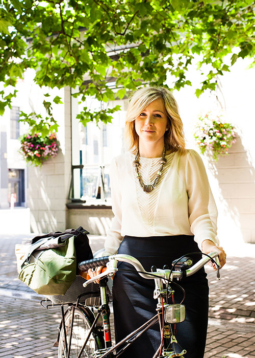 Spotlight on Bicycle Fashion Designers – Iva Jean