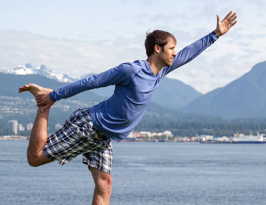 Standing Balance Yoga for the City Rider