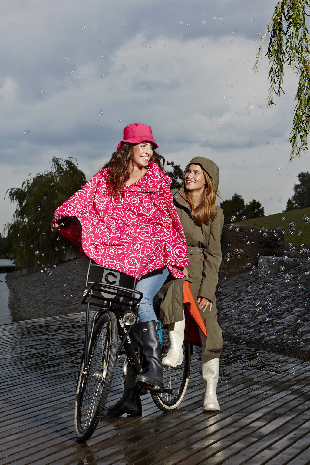 Great Rain Capes for Wet Bike Rides