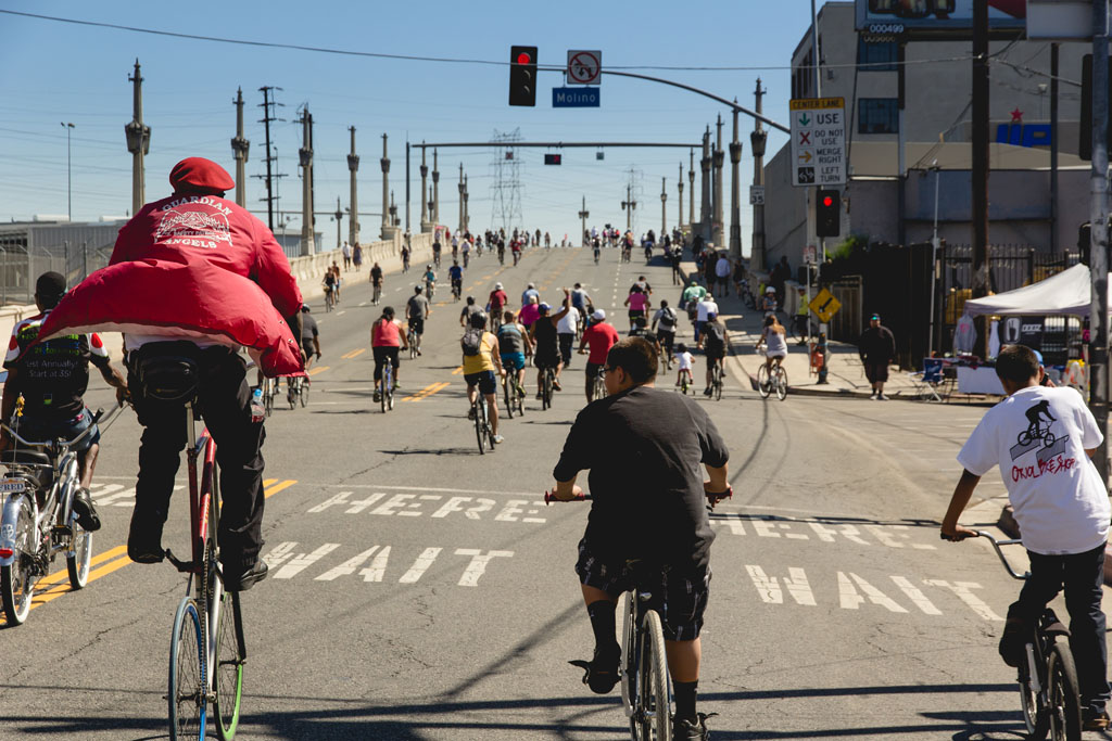 Enjoy Car-free Los Angeles During CicLAvia