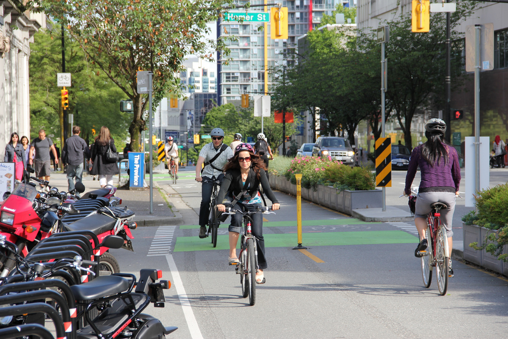 Dunsmuir Street, Vancouver, BC. Photo by Paul Krueger.
