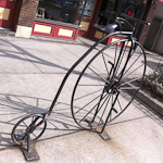 Artistic Bike Racks in Cleveland