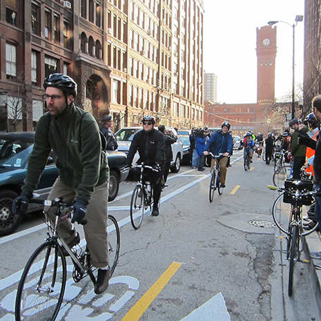 Chicago's Goal: Best Big City for Bicycling in America
