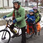 How to Bike in the Winter with Kids