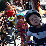 How to Travel With Your Children by Bike