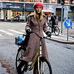 Winter Bike Fashion in Copenhagen