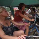 Pedal Power Music at Gaia Festival
