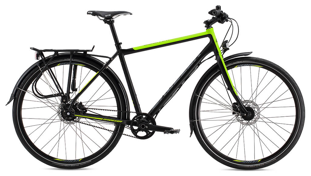 Commuter And City Bikes With Gates Carbon Drive Momentum Mag