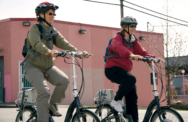 E-Bikers Gaining Ground in North America