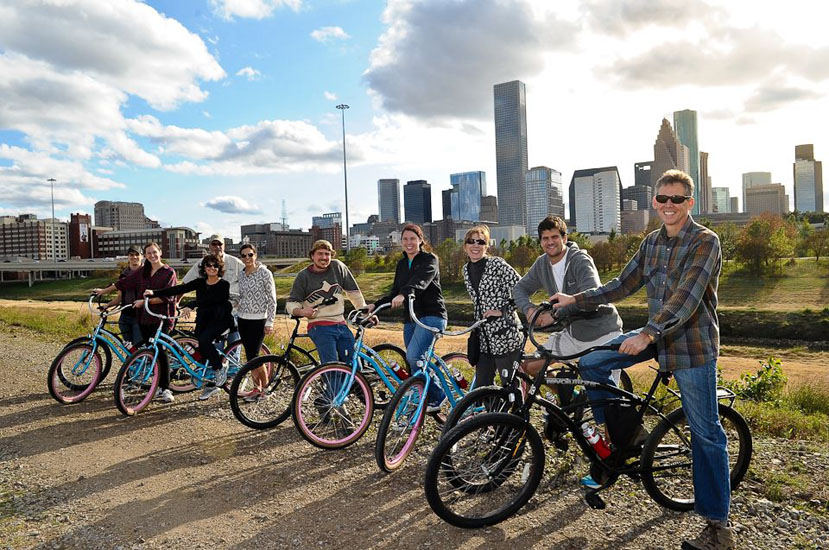 Discover Houston's History with Bayou City Bike Tours