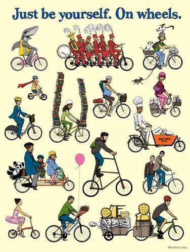 Bikeyface Posters