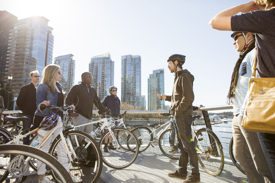 Bike Vancouver at Any Time of Year with Cycle City Tours