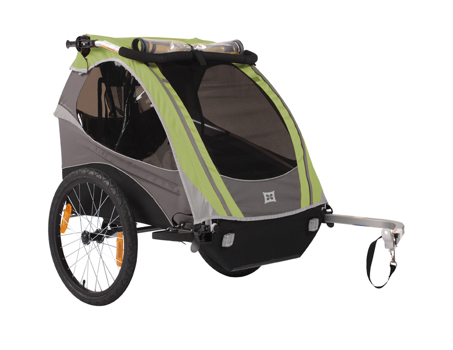 Double Bike Trailer Review: Burley D'Lite