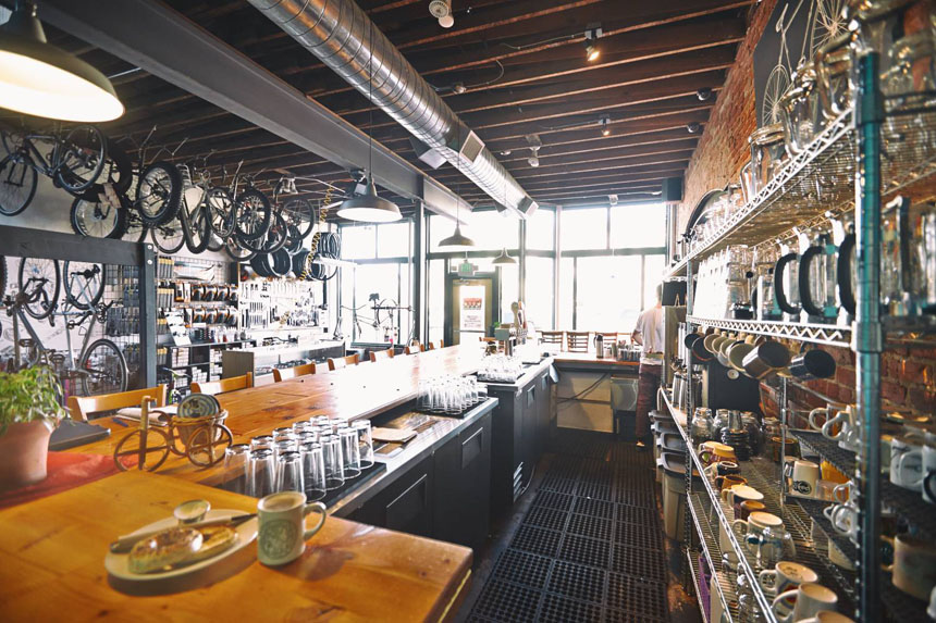 Six Bike-friendly Bars and Cafes