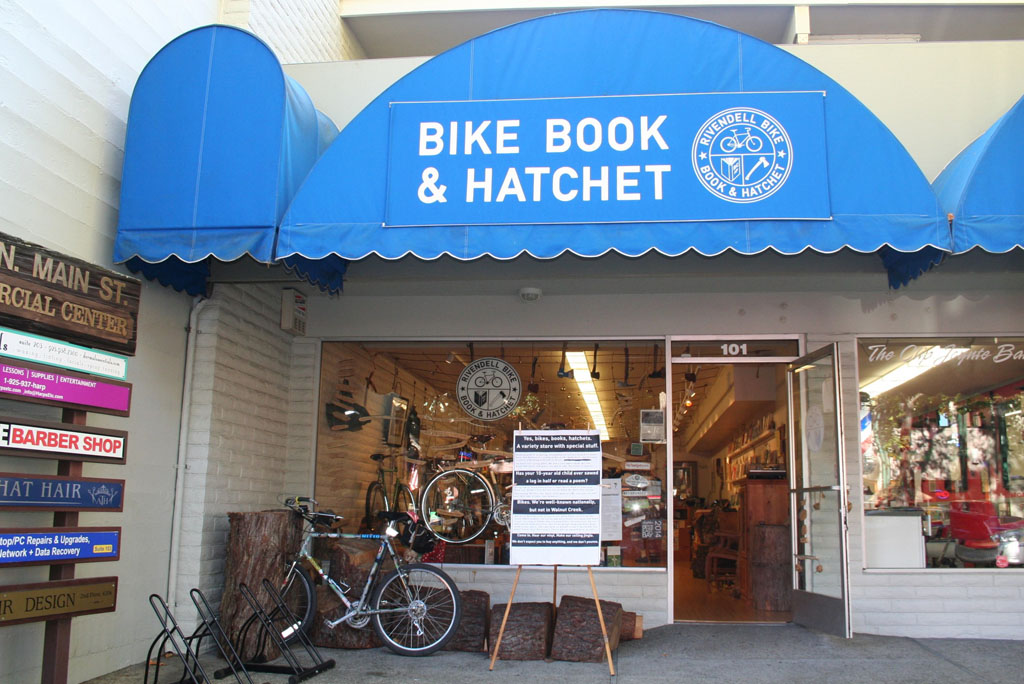 Rivendell Bike Book and Hatchet in Walnut Creek, CA. Photo by Manny Acosta
