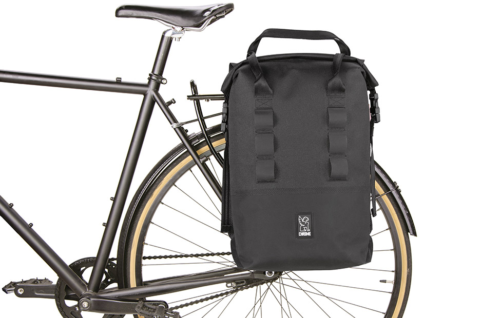 Chrome Saddle Bag Rolltop Pannier 20 Review