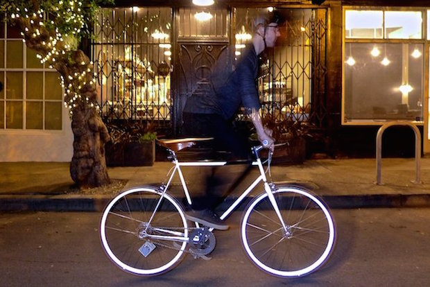 Retro-reflective Bikes Aim to Stand Out on City Streets