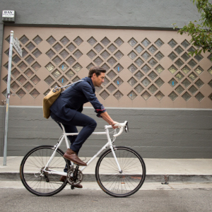 Parker Dusseau Bike Fashion: For the Man on the Go