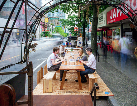 Public Park(ing) – Rise of the Parklet Movement