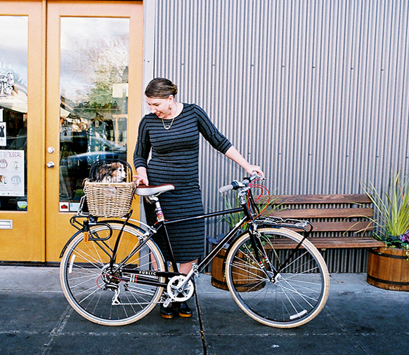 Quick Study: Inspiring Health Through Bike Fashion