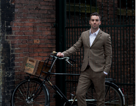 Vancouver Tweed Ride's Daniel Patching