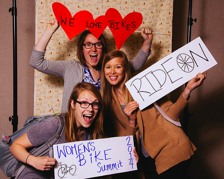 Women's Bike Summit in Kansas City