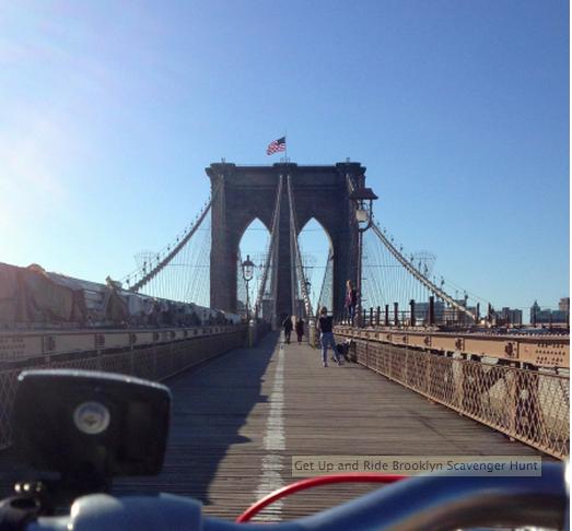 A Bike and Music Scavenger Hunt in Brooklyn