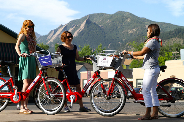 Bike Share Finds Success in Small Cities