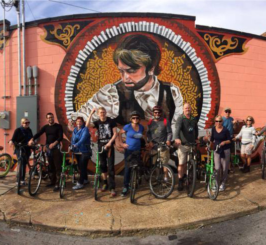 Discover Nashville with Green Fleet Bicycle Tours