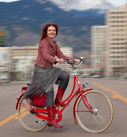 Amy Stovall shares her Bike Style