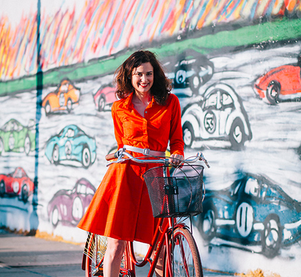 Spotlight on Bicycle Fashion Designers – Vespertine