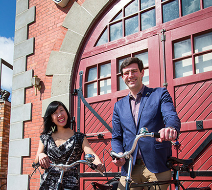 Edmonton's First Couple Sarah Chan and Don Iveson