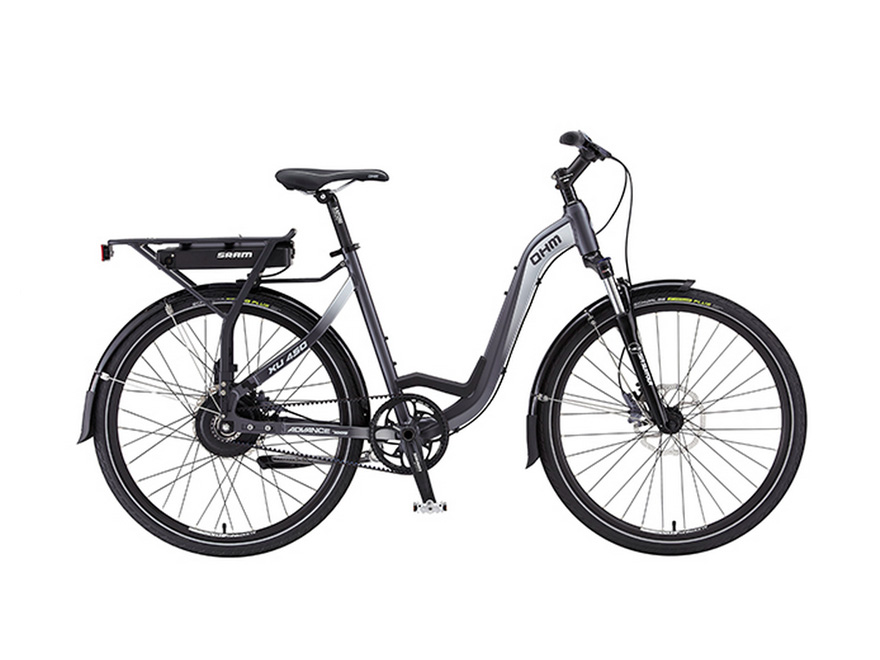 OHM Cycles E-Bike Gets a Boost From SRAM E-matic