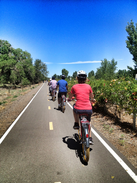 "Get Romantic in Albuquerque with Routes Rentals' ""Velo-Tines"" Tour"