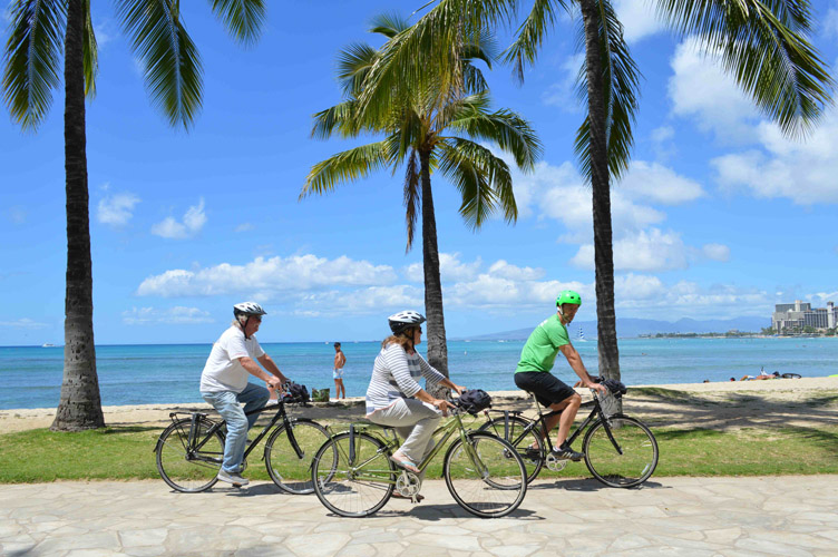 Uncover Honolulu's History with Pedal Bike Tours