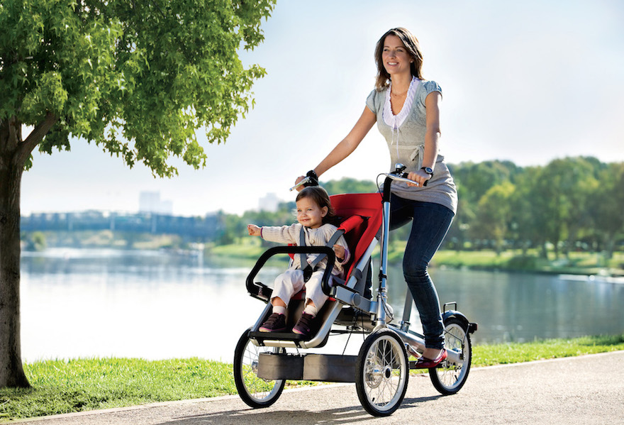 Integrated Stroller-Bike a Versatile Solution for Families
