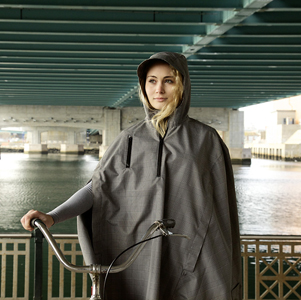 The Cleverhood Rain Cape, Inspired By Liveable Cities