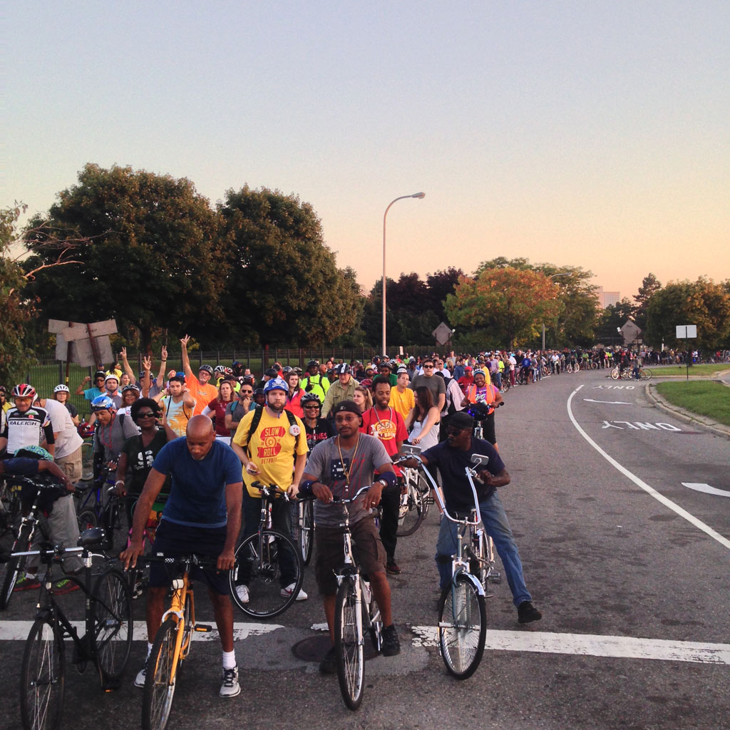 Rediscover the Motor City on Slow Roll Detroit's Weekly Rides