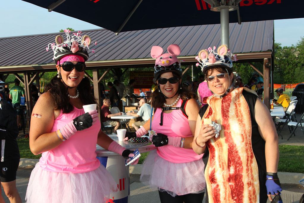 The BACooN Ride is All Things Bacon and Bicycles