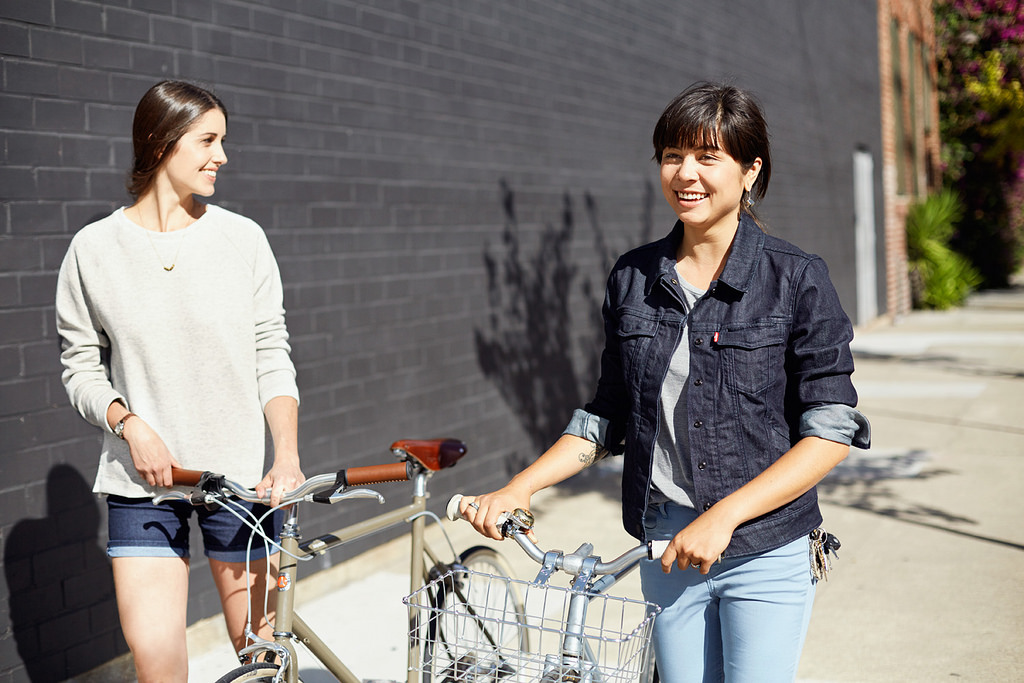 Levi's Launches Commuter Line for Women