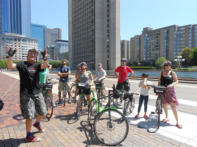 It's Boston by Bike with Urban AdvenTours