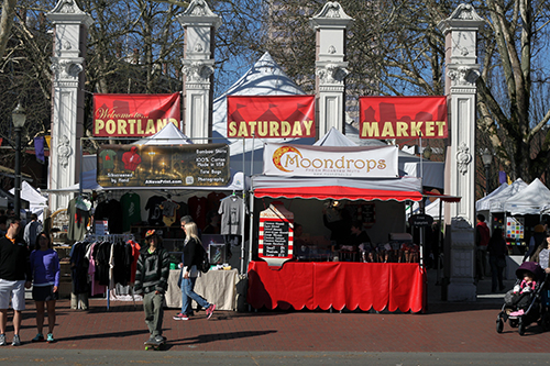 The Portland Saturday Market
