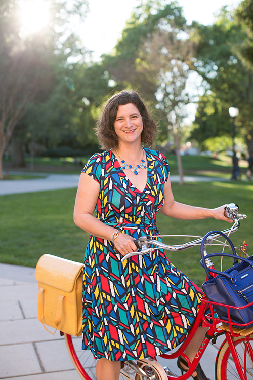 Janet Lafleur Shares her BikeStyle