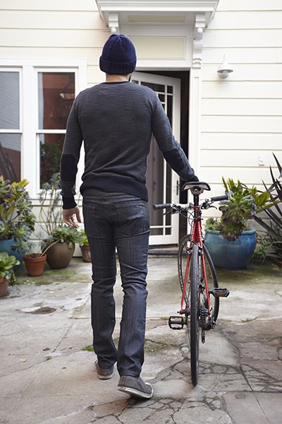 Osloh Traffic Jean in Dark Indigo Denim