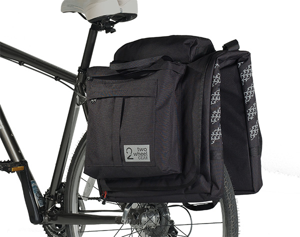 "Two Wheel Gear Introduces ""The Classic"" 2.0 Garment Pannier"