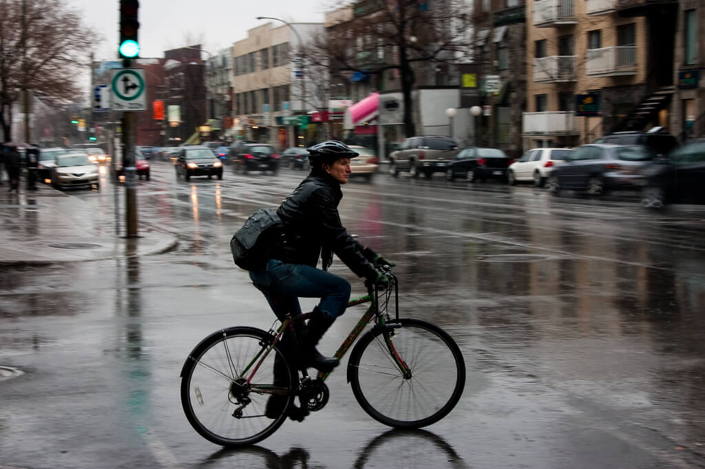 How To Bike in the Rain