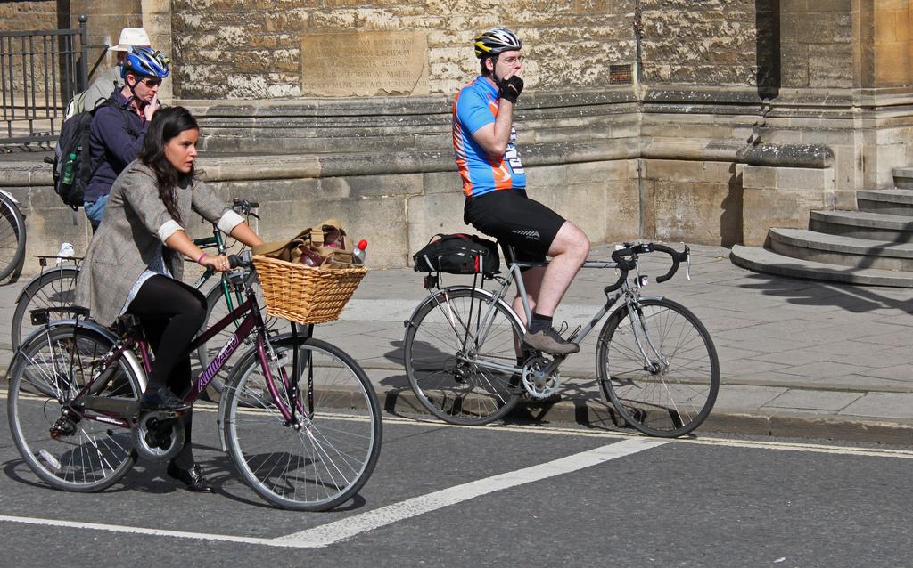 Bike Advocacy Bike Helmet Debate